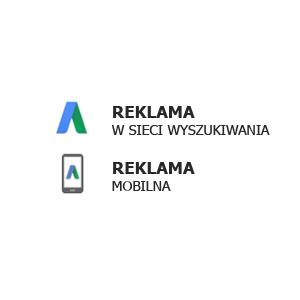 reklama w sieci wyszukiwania i mobilna