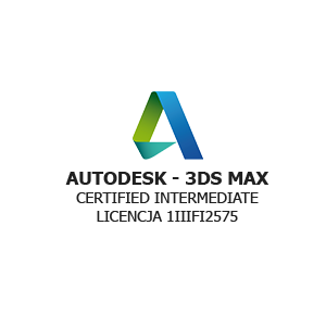 certyfikat autodesk3dsmax